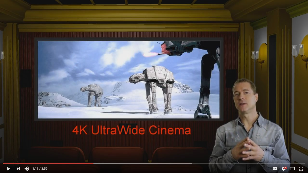 Panamorph 4K/8K Anamorphic UltraWide Home Theater Projector Lenses