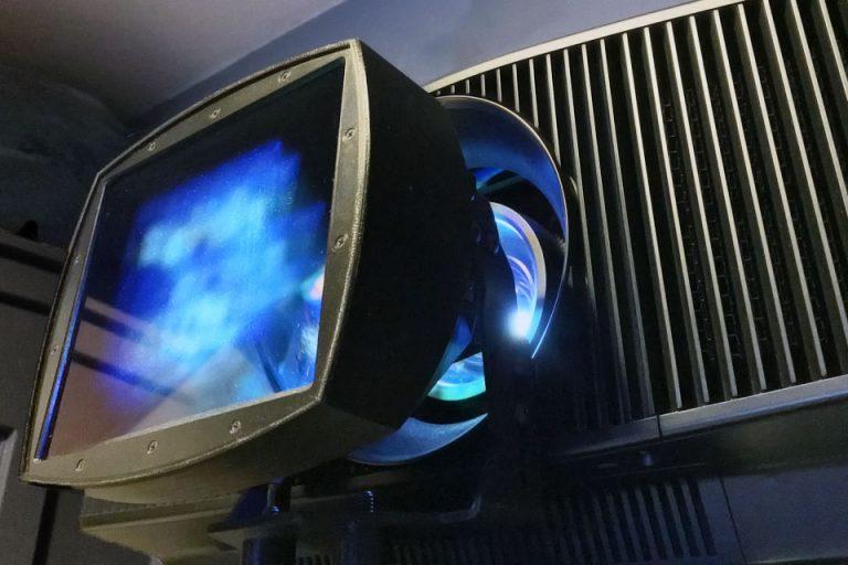 Paladin DCR on Sony VPL-VW885ES